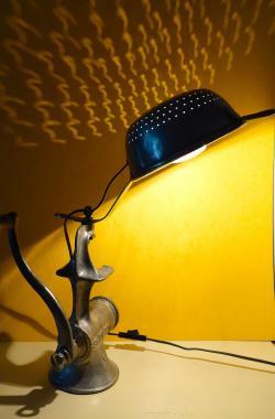 Lampe hachoir passoire 4