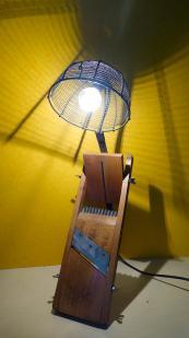 Lampe mandoline 1