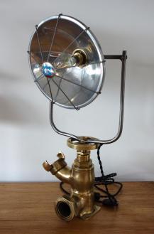 Lampe vanne bronze 1